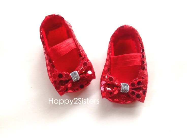 Wizard of Oz Baby Shoes, Baby Girl Shoes, Baby soft sole shoes, Newborn Shoes, Toddlers girls Shoes, Red ruby baby shoes, baby costumes. by Happy2sisters on Etsy https://www.etsy.com/listing/162840754/wizard-of-oz-baby-shoes-baby-girl-shoes