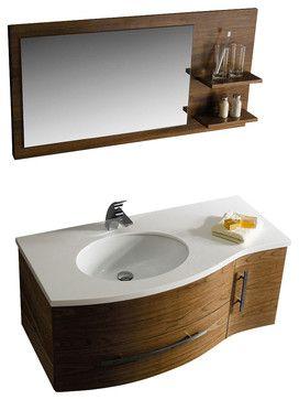 Website Photo Gallery Examples Vigo Single Bathroom Vanity with Mirror and Shelves contemporary Bathroom Vanities And Sink Consoles Modern Furniture Warehouse