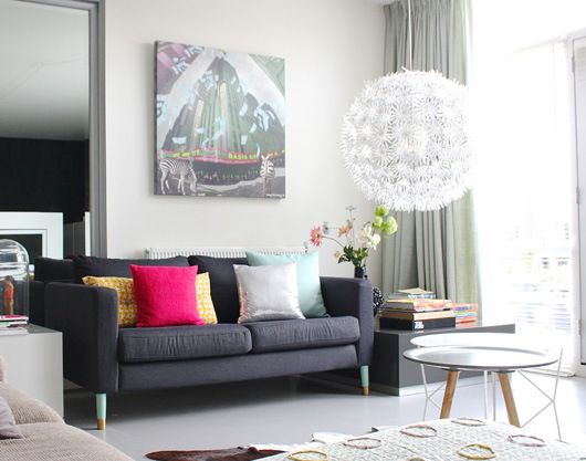 Do you struggle introducing colour to your home? check out this wonderfully eclectic and colorful family home.