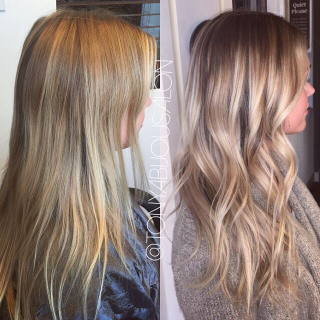 Balayage Sun Kissed Brown Blonde Hair Highlighted