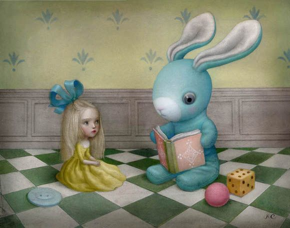 Nicoletta Ceccoli, By the Time You Are Real - Sweet & Low Exhibition