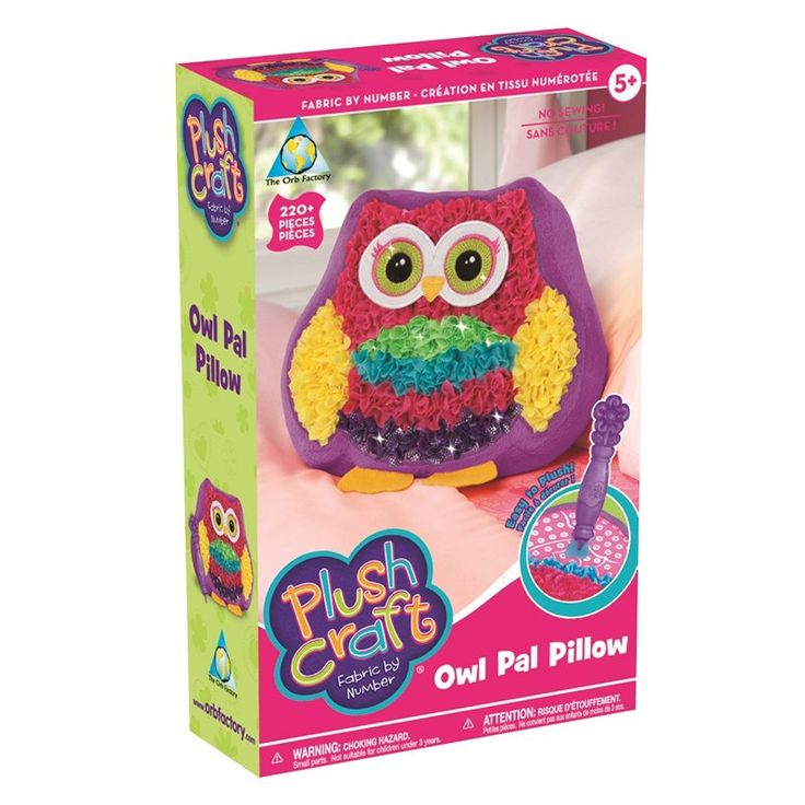 PlushCraft Owl Pal Pillow by The Orb Factory | Toys | chapters.indigo.ca