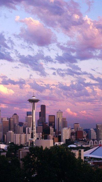 Seattle... lovely city!