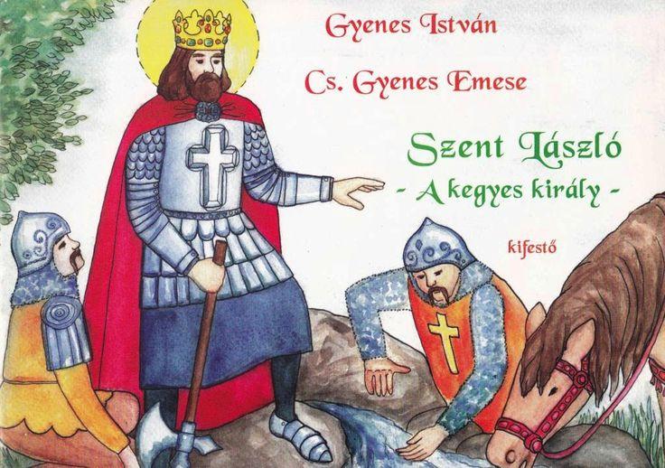 Marci fejlesztő és kreatív oldala: Szent László- A kegyes király