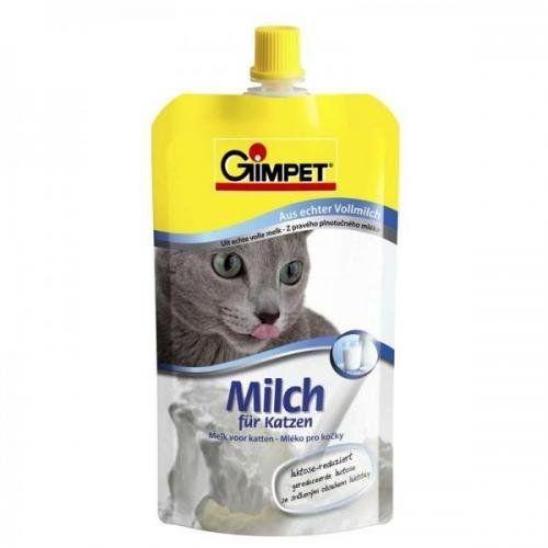 Aus der Kategorie Snacks  gibt es, zum Preis von EUR 2,95  <br /><br />Gimpet Milch für Katzen<br />- aus echter Vollmilch<br /><br />Katzen lieben Milch. Die in Kuhmilch enthaltene Laktose (Milchzucker) verursacht besonders bei ausgewachsenen Katzen häufig Durchfall. <br />GIMPET Milch für Katzen ist daher laktose-reduziert. Sie ist besonders bekömmlich, gesund und lecker. <br />Das cremigweiße Aussehen garantiert den durch die Laktose-Reduktion typischen, sahnigen Geschmack. <br />GIMPET…