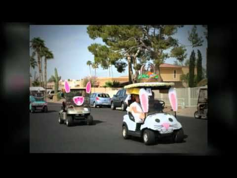 Sun Lakes Golf Cart Easter Parade 2012
