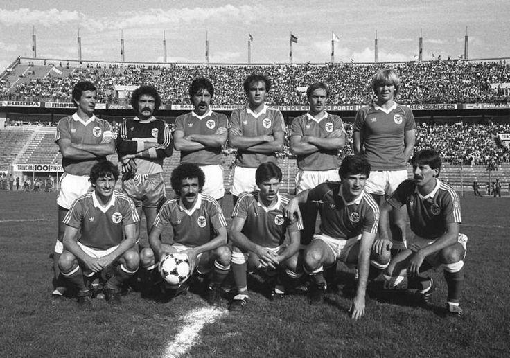 A equipa que bateu o FC Porto por 1-0 na final da Taça de Portugal de 1982/83, realizada no Est. Antas.