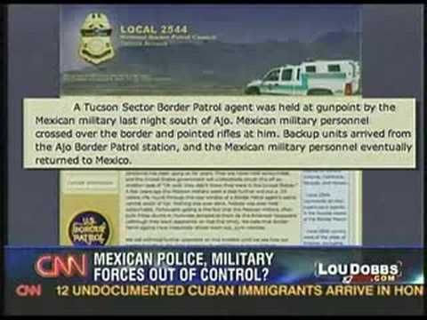 US Border Patrol Agents Held at Gunpoint by Mexican Military Inside US Borders -