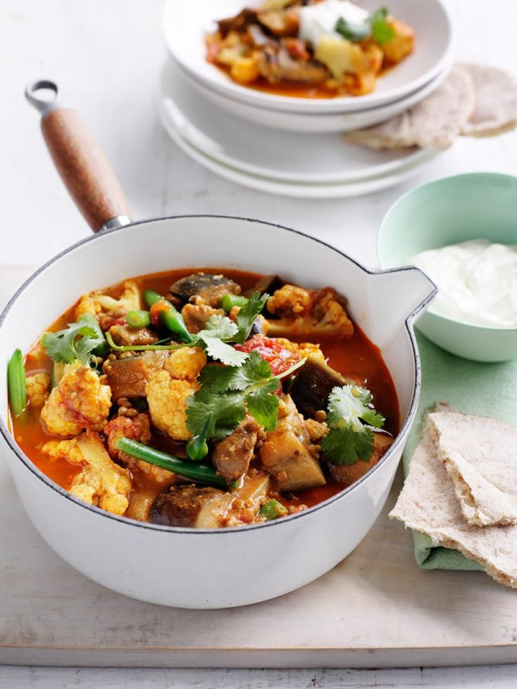 Why not try this lighter twist on a traditional curry for your supper tonight?