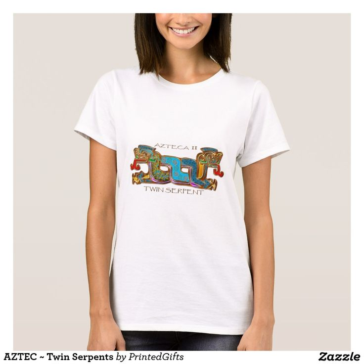 AZTEC ~ Twin Serpents T-Shirt