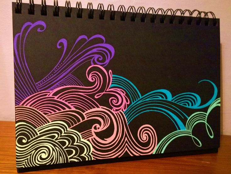I had a lot of fun experimenting with a new Zenspirations look tonight. This was done using Sakura's awesome moonlight gelly roll pens on Strathmore's Artagain black paper. Try it!