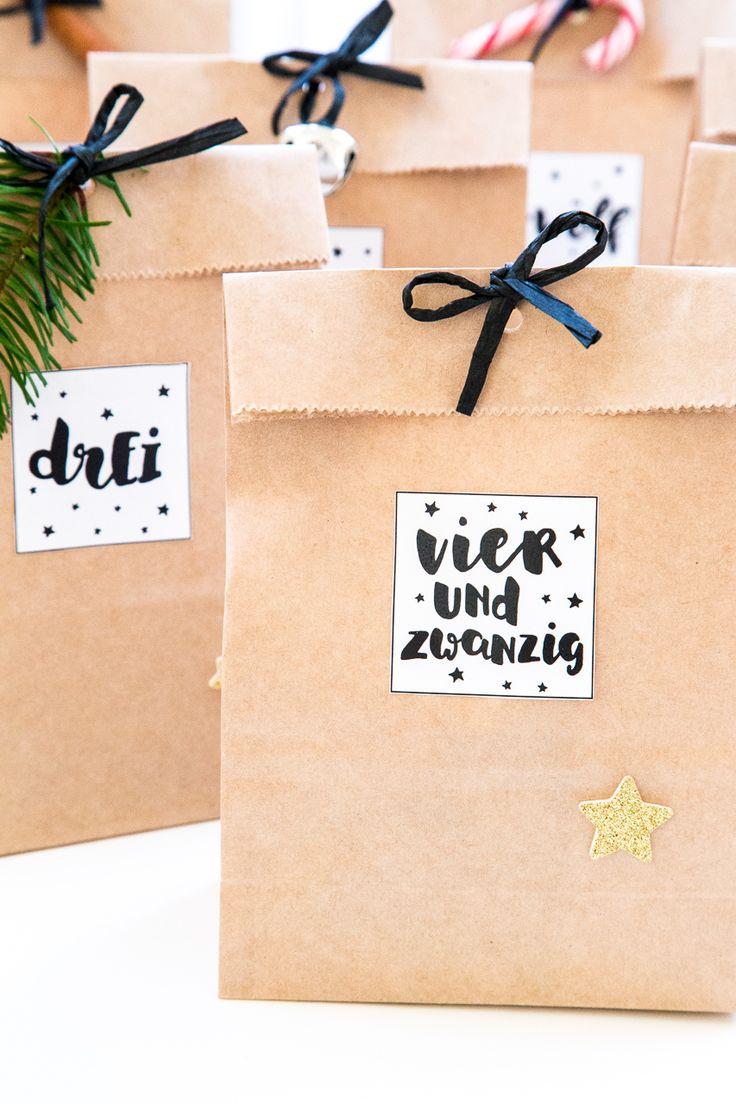 DIY Adventskalender & Vorfreude auf Weihnachten – Frau Punkt