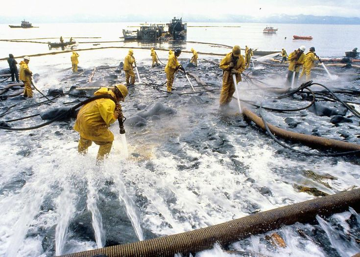 The Exxon Valdez Oil Spill: 25 Years Ago Today - The Atlantic