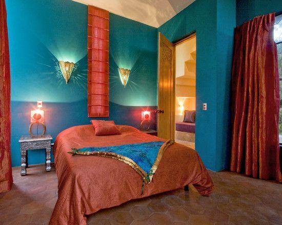 purple bedroom mediterranean matching - photo #33