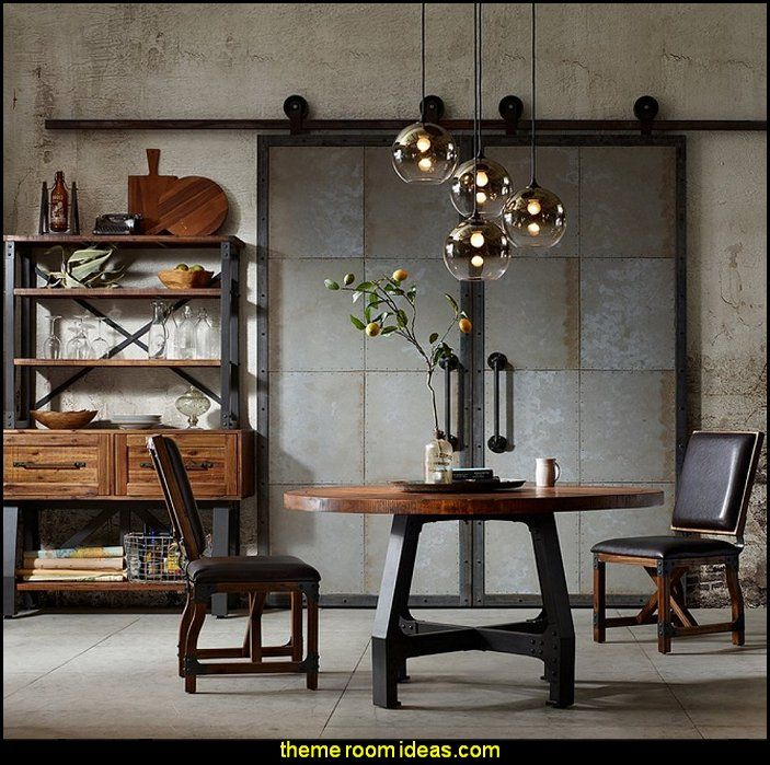Industrial Style Decorating Ideas Industrial Chic Decorating Decor Industrial Styl Urban Industrial Decor Dining Room Industrial Industrial Apartment Decor