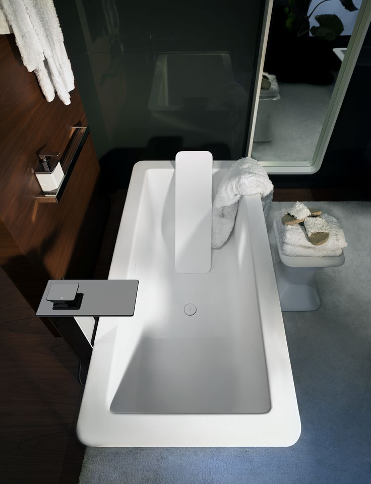 Gessi iSpa bath and Home Collection textiles and slippers