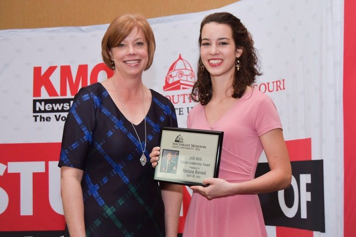 Grandview High School Student Wins Southeast Jack Buck Scholar-Leadership Award | Southeast Missouri State University