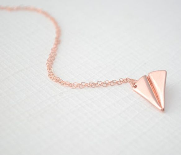 Airplane Necklace, So Cute!!