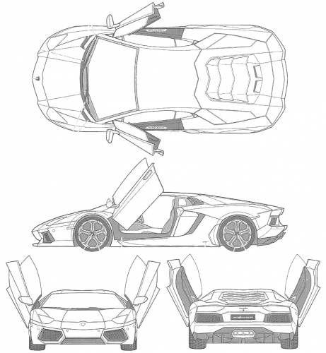 Lamborghini Aventador, (2011) In 2020