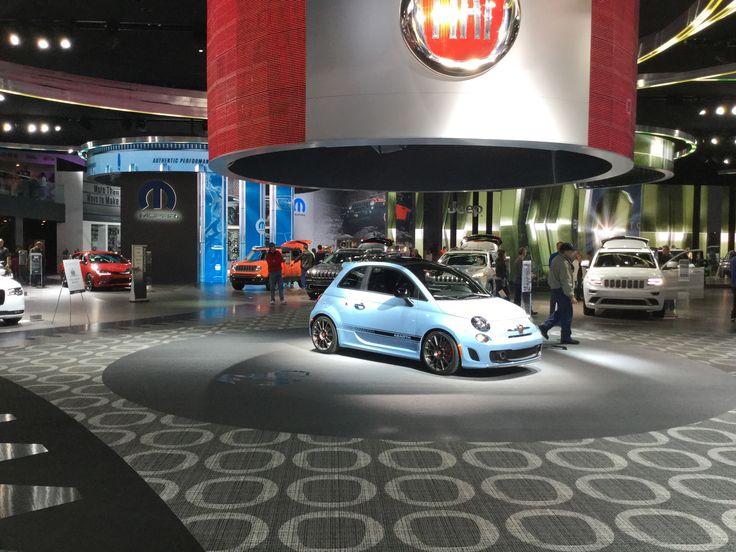 Location: Fiat Showroom, U.S.A. Carpet: Highline Loop collection - custom design - standard colours. (Ref. no. EF14828-2U). #Carpet by #egecarpets