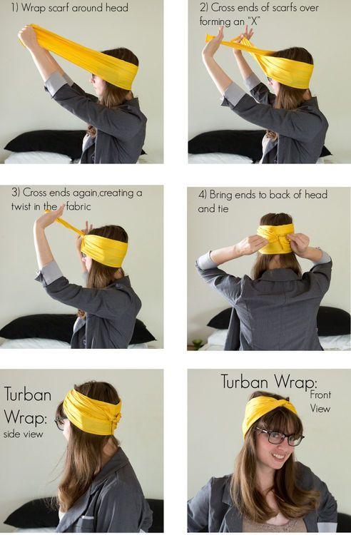 DIY Turban Wrap DIY Projects
