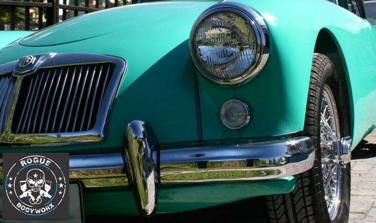 http://roguebodyworx.com/ #Spraypainting #panelbeating #classiccars