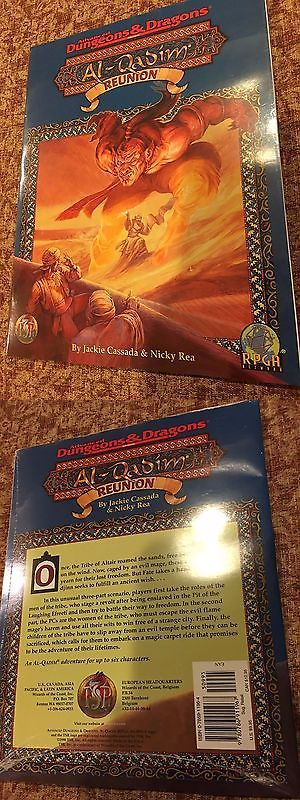 Other Role Playing Games 1183: Al-Qadim Reunion Adventure Tsr 9584 Adandd Dandd Sealed -> BUY IT NOW ONLY: $30 on eBay!