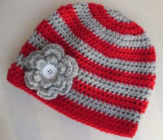 Ohio State Baby Toddler Child Hat Girl Beanie by LittleBeaBoutique, $16.00
