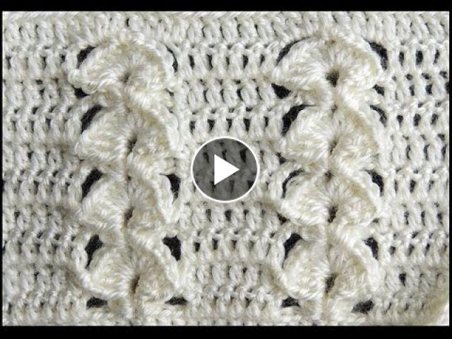 Crochet : Punto en Relieve Combinado | CROCHET STITCHES | Pinterest ...