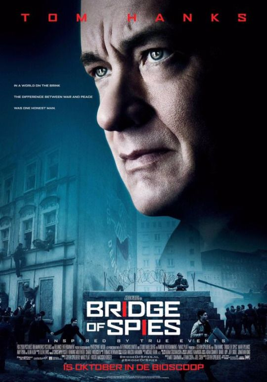 Based on a true story in 1960, American lawyer James B. Donovan is recruited by the CIA during the Cold War to help rescue a pilot detained in the Soviet Union by making a trade. 12/15