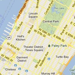 new york city tourist map map of attractions nyc map