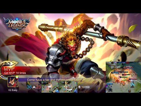 Mobile Legends Hero Monkey King Sun Magic Power Failure