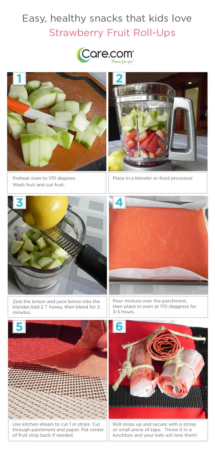 delicious and healthy fruit roll-ups.