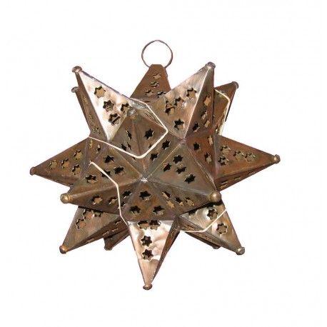 "Southwestern Lighting 9"" Tin Star"