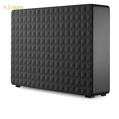 Seagate Expansion 3 TB USB 3.0 Desktop 3.5 inch External Hard Drive for PC Xbox One and PlayStation 4