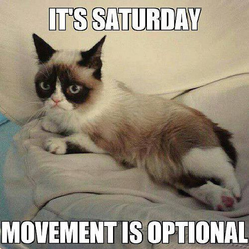 Saturday is for relaxing! Happy Weekend Everyone! <3