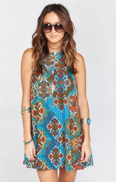 Katy Halter Dress ~ Shake Your Morocco | Show Me Your MuMu