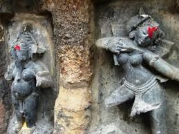 """Chausath (64) Yogini Temple in Hirapur, Odisha."""
