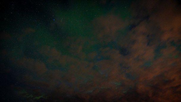 Северное сияние вспыхнуло в конце лета над Коми, фото, 1 сентября 2017 | Новости Сыктывкара | progorod11.ru