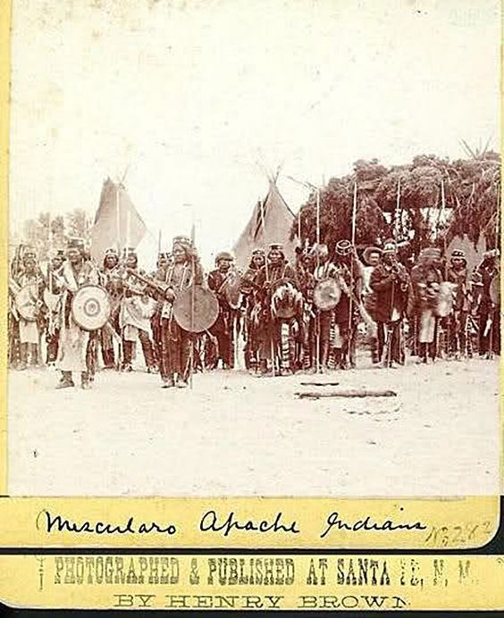 MESCALERO , 1883