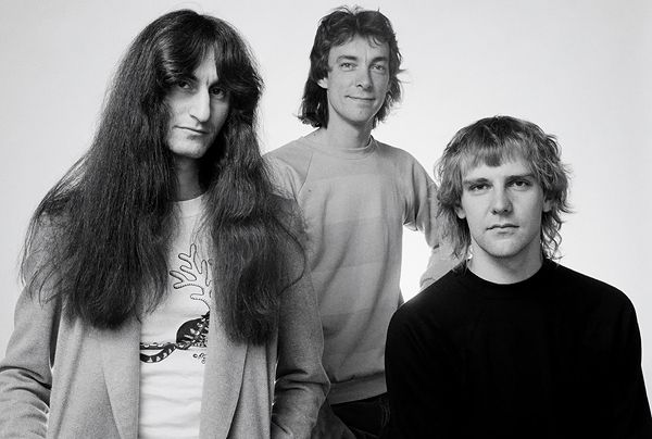 Geddy Lee, Neil Peart & Alex Lifeson of Rush