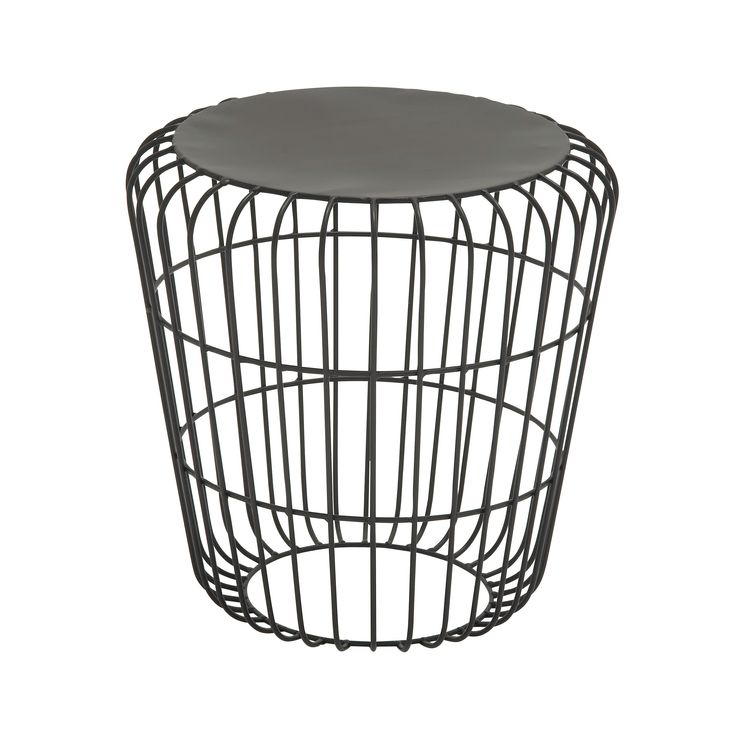 Round Wire Side Table