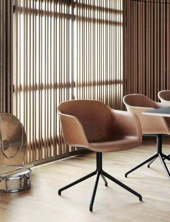 Fiberswivel Iskos Berlin For Muuto Biocomposite Materials Moldedseating Nordic FurnitureFurniture ChairsOffice FurnitureLeather ArmchairsDining Table