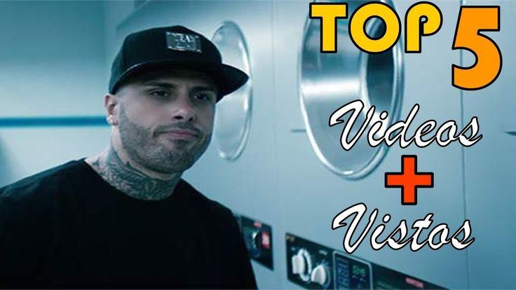 Nicky Jam - TOP 5 sus videos mas vistos en Youtube (2/9/17) Hasta El Ama...