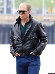 Johnny Depp Upcoming Movie Leather Jacket For Mens