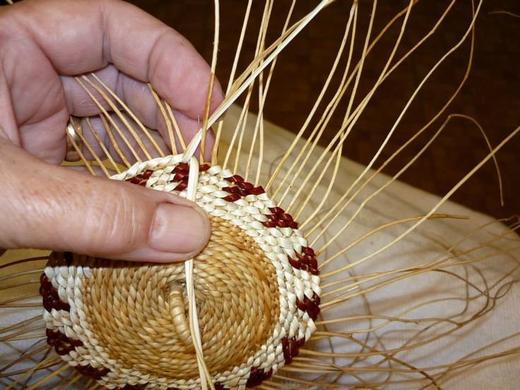How To Weave A Cedar Basket : Images about weaving cedar baskets on