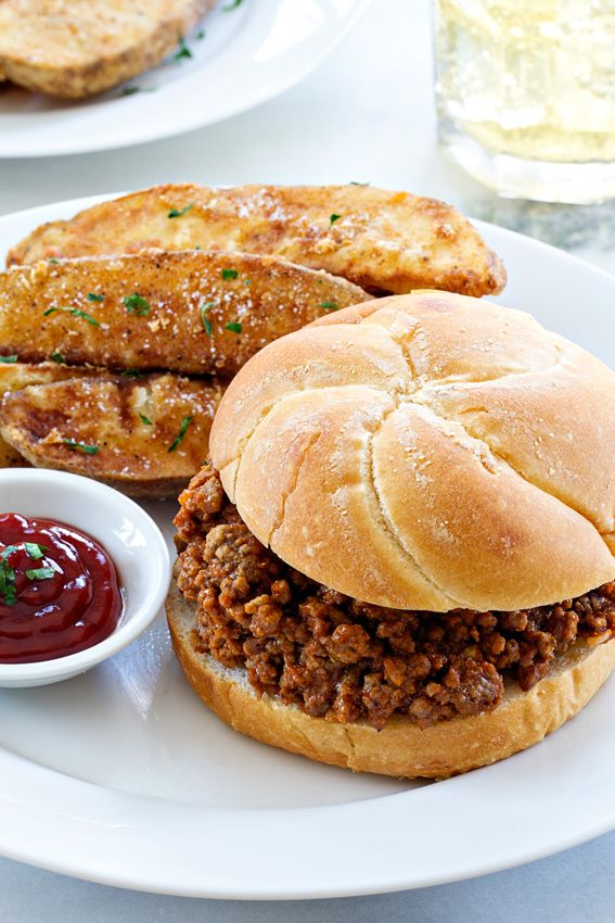 Homemade Sloppy Joes are the dinner everyone loves. Perfect for the whole family.