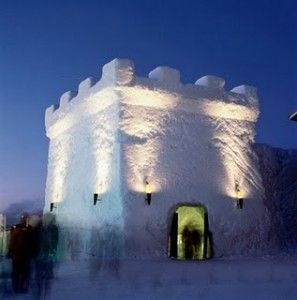 The Snow Castle of Kemi,Finland