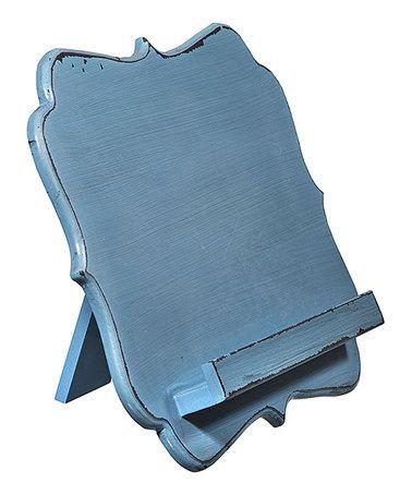 Blue Cookbook/Tablet Holder #zulily #zulilyfinds