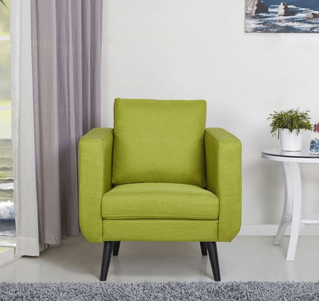 lounge chairs living room pantone golden lime 15118